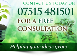 Call Plant A Seed Garden Design, construction & maintenance on 07515 481501 CTA