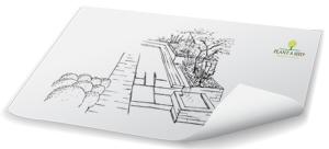 Plant A Seed Garden Design concept plan