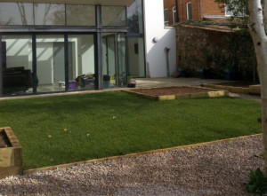 St Leonards, Exeter Garden Design by Plant A Seed - after 1