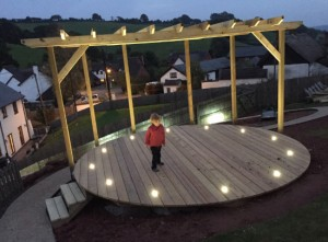 Plant-A-Seed-Garden-Design-Crediton-Devon-roud-decking-with-lights